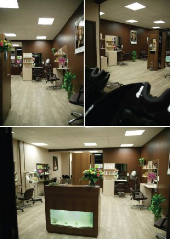 Le salon de coiffure / Salon de coiffure Hair Zen : Salon de ...