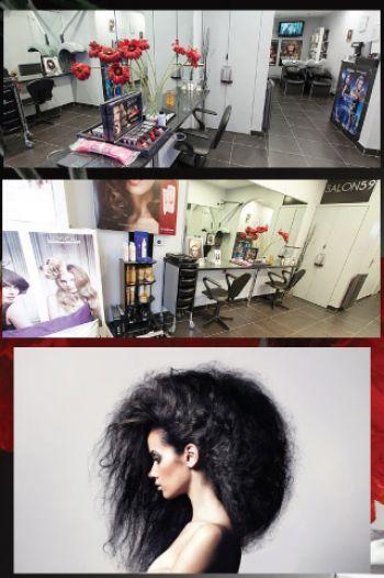 Le salon de coiffure salon 59 salon de coiffure paris for Salon de coiffure paris 9