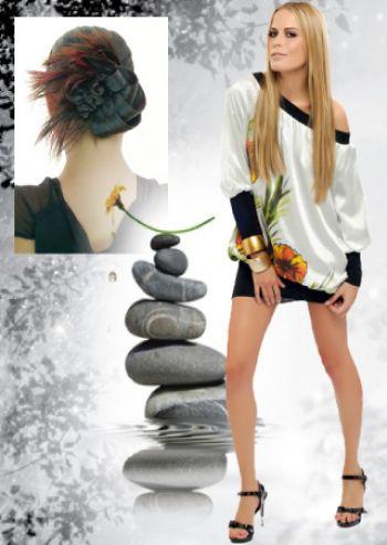 Coiffure de mariee cheveux long oriental coiffures for Tchip coiffure creteil