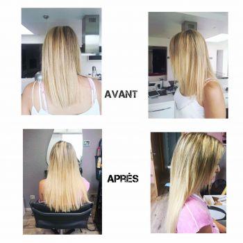 Extensions de cheveux / IMAGINAT' IF : Salon de coiffure - Autelhaut