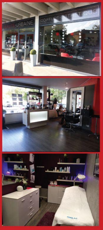 Le salon de coiffure et d 39 esthetique beaute urbaine - Decoration salon de coiffure et d esthetique ...